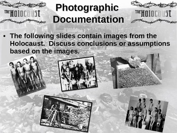 Holocaust Complete overview: primary-sources, stats and more (90-slide PPT)