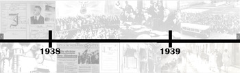 Holocaust Giant Size Timeline of Events Printable