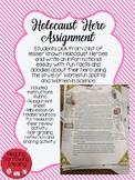 Holocaust Hero Informational Writing Assignment