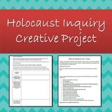 Holocaust Inquiry Creative Project using Canva!