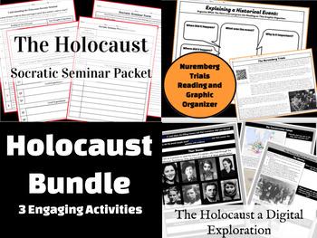 Holocaust Lesson Mini-Bundle: 3 Engaging Activities