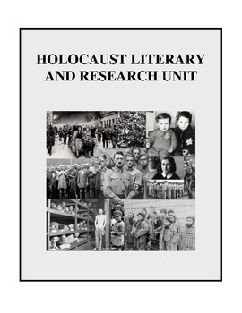 Holocaust Literary and Research Unit - Activities and Handouts
