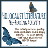 Holocaust Literature - Pre-Reading Activity - Poetry - Symbolism