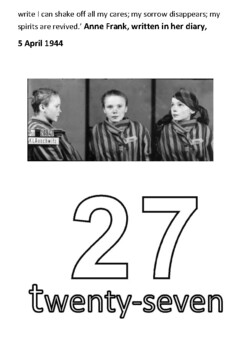 Holocaust Memorial Day Handout and Activity Booklet