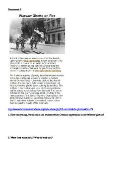 Holocaust Mini Project