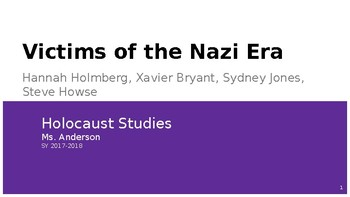 Holocaust Nazi Victums