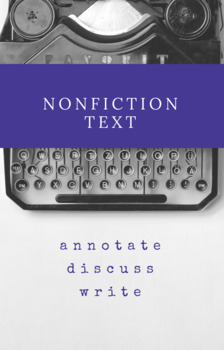 Holocaust Non-Fiction Text Assignment