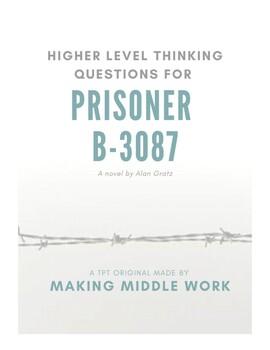 "High Level Q's for ""Prisoner B-3078,"" A Holocaust Novel, Alan Gratz"