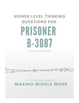 "High Level Q's for ""Prisoner B-3078,"" A Holocaust Novel, A"