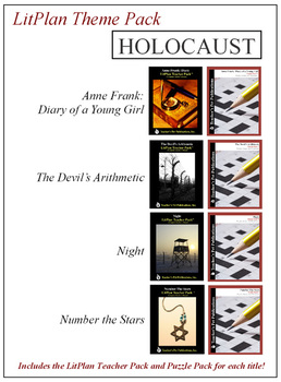 Holocaust Novel Unit Theme Pack Bundle
