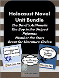 Holocaust Novel Units Bundle~ 3 Novel Units Included! Great for Lit. Circles!