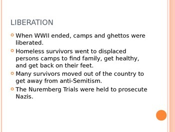 Holocaust Overview with Notes