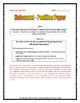 Holocaust - Position Paper (Essay) with Rubric