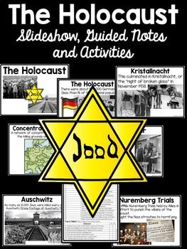 Holocaust PowerPoint with Activities, World War II, Hitler