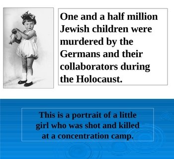 Holocaust Powerpoint- Images of Women and Children