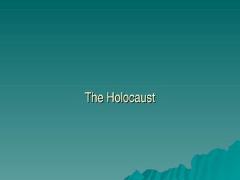Holocaust Powerpoint Presentation