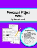Holocaust Project Menu Board
