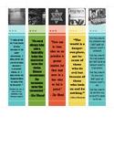 Holocaust Quote Bookmarks