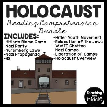 holocaust reading comprehension worksheet pdf