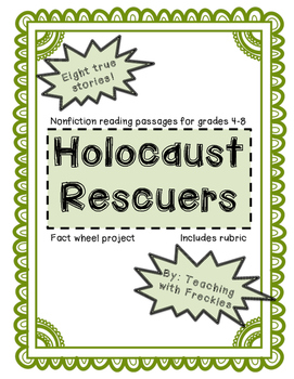Holocaust Rescuers: Eight True Stories and Fact Wheel Project