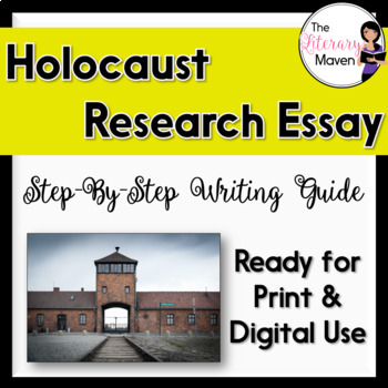 Holocaust Research Packet: Step by Step Writing Guide for ELA, History