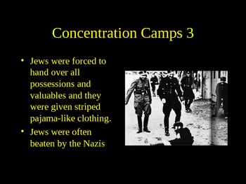 Holocaust Rise of Hilter to Nuremburg PowerPoint