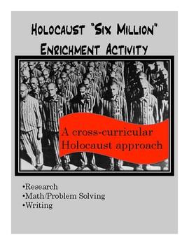 "Holocaust ""Six Million"" Math Activity & Project"
