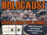 Holocaust Sources Bundle (Primary Sources, Stories, Questi
