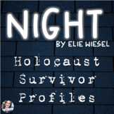 Holocaust Survivor Profiles - Night by Elie Wiesel