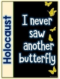 Holocaust - The Butterfly Project - I Never Saw Another Butterfly-