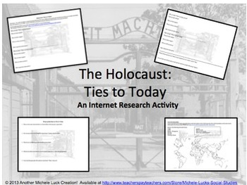 Nazi Germany Holocaust Ties to Today Internet Research Activity Hate Groups