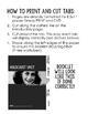 Holocaust Unit/Anne Frank Interactive Notebook: Editable D