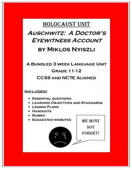 Holocaust Unit:  Auschwitz