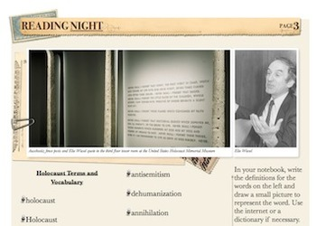 Holocaust Unit: Night by Elie Wiesel