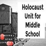 Holocaust Unit - Middle School