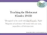 Holocaust Unit Plan (Night)