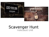 Holocaust Unit Scavenger Hunt: Book Thief; Prisoner B-3087; Anne Frank; Night