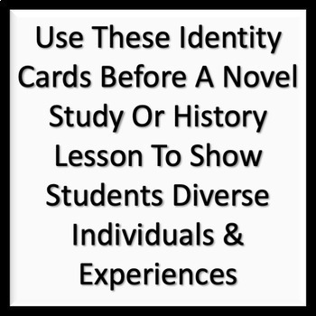 Holocaust Victims Identity Cards for ELA, History - Common Core Aligned