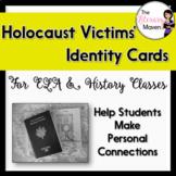 Holocaust Victims' Identity Cards for ELA, History