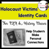 Holocaust Victims' Identity Cards for ELA, History - Print