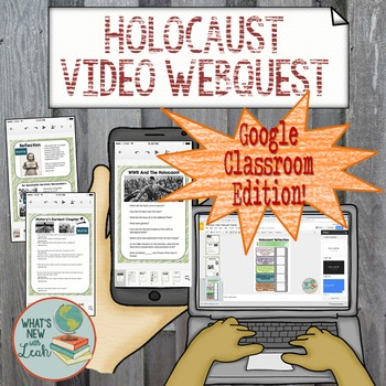Holocaust Video Webquest for Google and One Drive Distance Learning