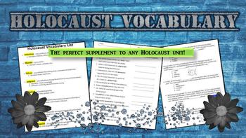 Holocaust Vocabulary