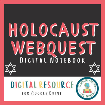 Holocaust Webquest: Google Drive Compatible