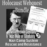 Holocaust Webquest Bundle