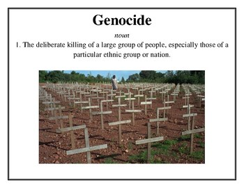 Holocaust Word Wall Vocabulary