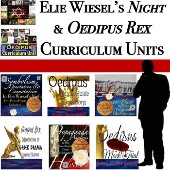 Elie Wiesel's Night and Oedipus Rex: Curriculum Unit Bundles