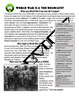 Holocaust and World War Two (WWII) Vocabulary Thought Bubbles