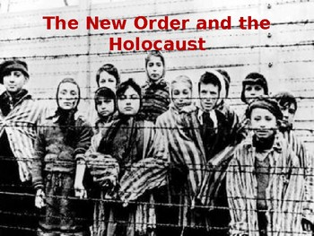 Holocaust and the Japanese New Order