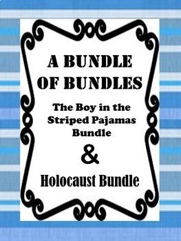 Holocaust Bundle & The Boy in the Striped Pajamas Bundle BUNDLE
