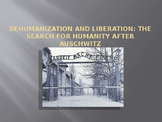 Holocaust-dehumanization and liberation after Auschwitz